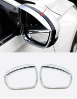 ABS Chrome Rearview Side Mirror Eyebrow Cover Trim 2pcs For Nissan Altima 2019