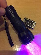 9 LED Linterna Antorcha Lámpara curado Secador de Uñas UV Gel Baterías polaco-libre