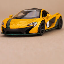 2013 Yellow McLaren P1 Model Car Pull Back Action 1:36 Scale Die-Cast