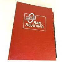 Lot 14 Gauge Model Toy Railroading Magazines in Binder NM Full Year 2010 ++ 1992