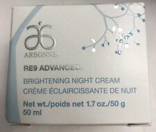 arbonne re9 advanced brightening night cream