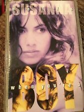 Susanna Hoffs When You're A Boy (cassette) @RARE@ FAST SHIPPING