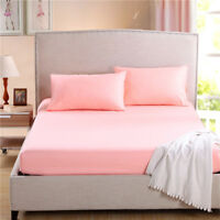 Home Textile Bed Sheet Soft Cotton Fitted Bed Mattress Cover In Polyester New