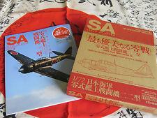 FINE MOLDS 1/72 Mitsubishi A6M3 Model 22 ZERO w/Scale Aviation Magazine Mar 2013