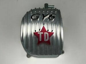 Scooter GY6 150cc Taida Billet Aluminum Valve Cover 2 VALVE GY6 Silver