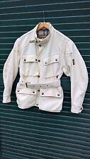 Belstaff jacket woman sz 40 cotton wax waxed like new vintage trialmaster xl 500