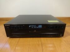 Sony CDP-C425 5-Disc CD Compact Disc Changer 1992 Made in Japan