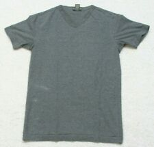 Banana Republic Gray V-Neck T-Shirt Top Small Short Sleeve Cotton Spandex Tee