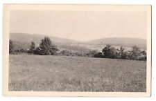 RPPC View Field Mountains CAMP MENSCH MILL ALBURTIS PA Postcard Pennsylvania