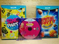 Nintendo Wii U Video Game Lot EA FIFA Soccer 13 & Wipeout The Game Activision