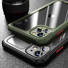 COVER per Iphone 12 Pro Max Mini BUMPER SILICONE CUSTODIA SLIM + VETRO TEMPERATO