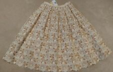 MICHAEL KORS COLLECTION Floral Lace Cut Out Overlay Pleated Skirt NWT 8 $8995