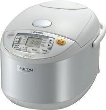 Zojirushi NS-YAC18 Umami Micom 10-Cup Rice Cooker & Warmer, Pearl White