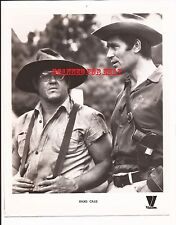 HARDCASE Press Photo - Clint Walker and Alex Karras