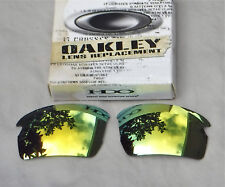 NWOT Oakley Flak 2.0 Asian Fit Lens Polarized 24K Gold Iridium Lens (no etching)