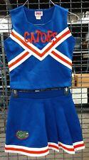Real Authentic Orange Blue White Florida Gators Cheerleading Cheer Team Uniform