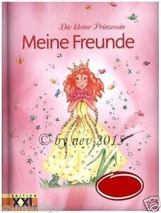 """MEINE FREUNDE """"DIE KLEINE PRINZESSIN"""" Freundebuch Schule Poesiealbum NEUWARE"""