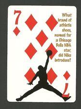 Air Jordan Michael Jordan Basketball Neat Playing Card #5Y8