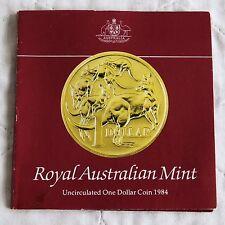AUSTRALIA 1984 UNCIRCULATED ONE DOLLAR - ram pack