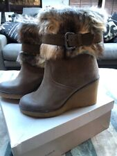 DUNE Brand New ankle boots size 5 Taupe