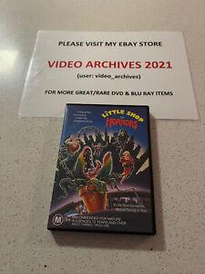 Little Shop of Horrors (1986) DVD Rick Moranis Steve Martin John Candy Free Post