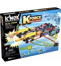 K'NEX K-FORCE Build and Blast - Dual Cross Building Set - 368 Pieces - Ages 8+