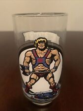 Vintage HE-MAN Masters Of The Universe Collector Drinking Glass 1983 Mattel