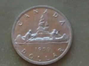 1959 Canada Silver Dollar 80% Silver