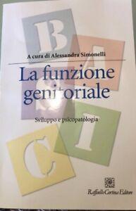 La Funzione Genitoriale Alessandra Simonelli Libro