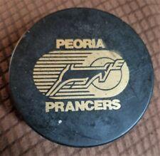 Vintage IHL Peoria Prancers  Puck