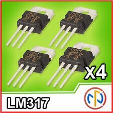 4x LM317 regolatore di tensione da 1,2V a 37V 1.5A stabilizzatore