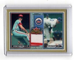 2002 Fleer Rival Factions * Nolan Ryan & Carlton * #RF SC-NR * Carlton's Pants *