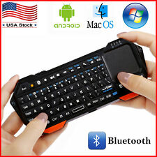 Mini Wireless Keyboard Touchpad Mouse 3 in1 iOS Android Windows Portable Backlit