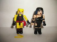 Marvel Minimates Figure Mini Mates X-Men Yellow Dare Devil vs. Elektra