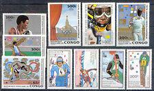 Olympiade 1980, Olympic Games - Kongo - ** MNH