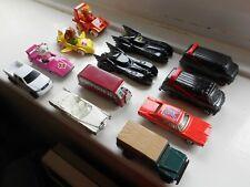 Job lot Ertl toy cars x11 + 1 Galoob A-Team, Batmobile, Dukes of Hazzard etc