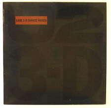 "12"" Maxi - U2 - 3D Dance Mixes - B1704 - RAR - washed & cleaned"