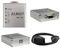 KFZ Diagnose Gerät Interface ELM327 Aluminium Edition V1.5a OBD Can-Bus Scanner