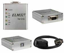 KFZ Diagnose Gerät Interface ELM327 Aluminium Edition V1.5a OBD Can-Bus Scanner