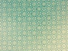 Jade Medallions 100% Cotton fabric by the half metre