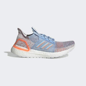 NEW Adidas Running Ultra Boost 19 Blue Coral White G27483 Women Ultraboost Shoes