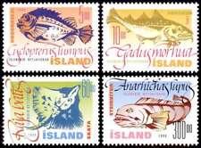 Iceland 1998 Fish Lumpsucker, Atlantic Cod, Atlantic Wolf-fish & Skate MNH / UNM