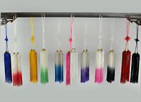 Chinese Kung Fu Tai Chi Wushu martial art Show Exercise Sword tassels 12color