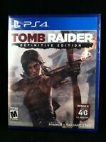 Tomb Raider: Definitive Edition  (PlayStation 4) Brand New / Region Free