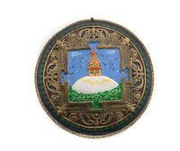 Mandala Mantra Tibetano De Barro Y Papie Stupa de Ojos De Buda Nepal 9529