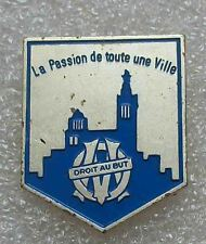 "football/soccer pin OLYMPIQUE MARSEILLE FRANCE ""the passion of the city"" rare"