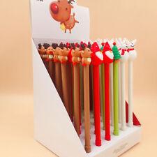 Christmas Reindeer Santa Claus Snowman Gel Pen Children Office School Supplies