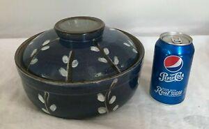PUSSYWILLOW by OTAGIRI Japan ceramic large casserole