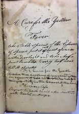 1795 Early American Domestic Medicine William Buchan Cures Recipes Diseases