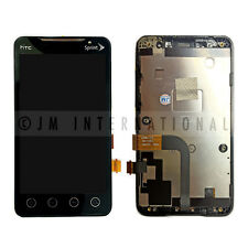 OEM HTC EVO 4g Narrow Flex LCD & Touch Screen Digitizer Assembly /w Frame Bezel
